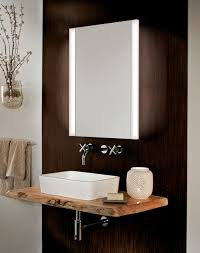 GlassCrafters' Frameless Mirrored Medicine Cabinet with Vertical ...