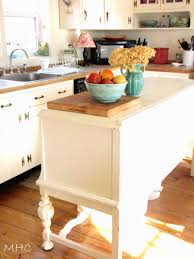 Kitchen Buffet Furniture Turning Old Sideboard Buffet Into Kitchen Island Creative Love