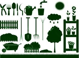 garden materials. Manure Stock Vector Illustration And Royalty Free Clipart Gardening Materials 12340621 Green Garden Tools For Household Isolated Icon