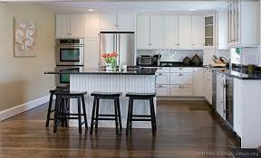 Kitchen Kitchen Decor With White Cabinets In Conjunction With