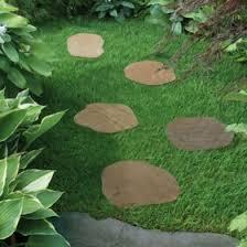 garden stepping stones round stepping