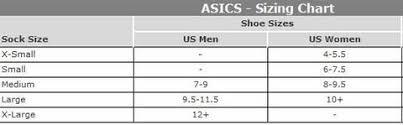 Asics Women S Socks Size Chart Asics Quick Lyte 3 Pack Running Socks Assorted Zk2241w 6000