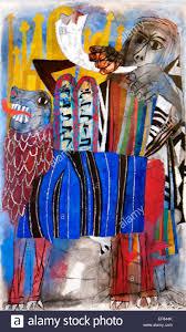 third allegory 1955 ben shahn 1898 1969 lithuanian born american artist vatican collection of modern religious art rome italy