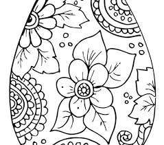 Printable Easter Egg Coloring Sheets Coloring Pages Free Printable