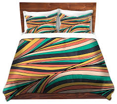 DiaNoche Duvet Covers Twill by Pom Graphic Design - Retro Movement ... & DiaNoche Duvet Covers Twill by Pom Graphic Design - Retro Movement  contemporary-duvet-covers Adamdwight.com