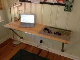 wall mounted desk diy photo 1