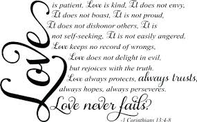 Love Is Patient Quote Interesting Love Is Patient Quotes Auscampys Quotes Of Life