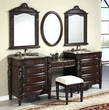stools for bathroom vanity simple stool sharp edge in artistic twin mirror  on pastel wall paint