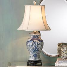 porcelain lighting. classic blue and white porcelain vase lamp blue_white lighting p