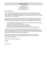 resume for restaurants cover letter for restaurant manager restaurants manager resume