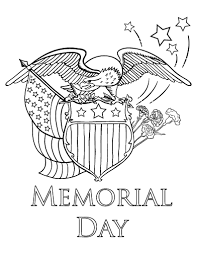 Small Picture Printable Memorial Day coloring page Free PDF download at http