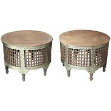 marrakesh coffee table pair of two round coffee tables for at marrakesh coffee table homebase