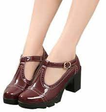 Details About Dadawen Womens Classic T Strap Platform Mid Heel Square Toe Oxfords Dress Shoes