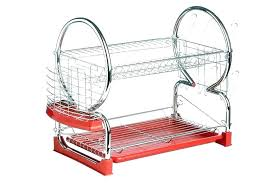 Plate drying rack Chrome Red Dish Rack Red Dish Rack Dish Rack Red Dish Drainer Rack Rack With Tray Red Red Dish Rack Dawncheninfo Red Dish Rack China Abs Red Dish Rack Plate Drying Holder Red Dish