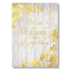 Wpg Woodgrain Sympathy Card