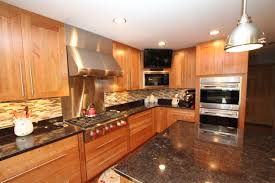 Natural Cherry Cabinets Natural Cherry Cabinets With Granite Countertops An Oversized