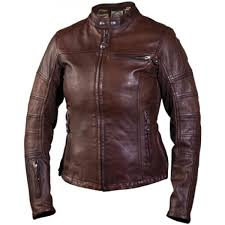roland sands rsd brown maven leather womens motorcycle riding jacket small