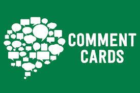 Comment Cards December Comment Cards East End Food Coop