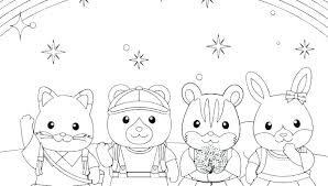 Calico Critters Coloring Pages Little Critter Book Kids New And