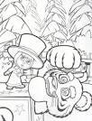 Маша и медведь зимние раскраски