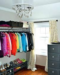 bedroom into closet ideas walk