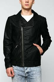 mens faux leather biker jacket urban outfitters asymmetrical faux leather jacket armani exchange mens faux leather