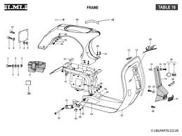 17 best images about vespa mesas cable and jet skies 16 frame tasso lml scooter spare parts
