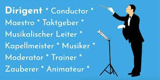 Sprüche Zitate Weisheiten Rund Um Dirigent Conductor Dirigenten