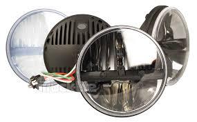 set of 2 truck lite 7 round led headlamp complex reflector set of 2 truck lite 7 round led headlamp complex reflector optics design phase 7 27270c
