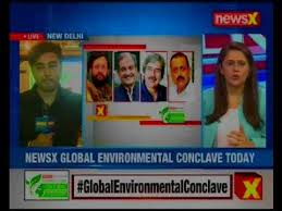 newsx in association with sunday guardian brings the global environment conclave today