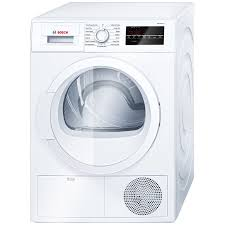 Bosch 300 Series 4-cu ft Stackable Ventless Electric Dryer (White)