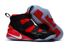 lebron red shoes. sale lebron soldier 11 kids black red shoes larger image lebron