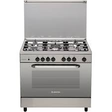 ariston gas cooker cn5sg1x 90x60 5 burner in uae dubai