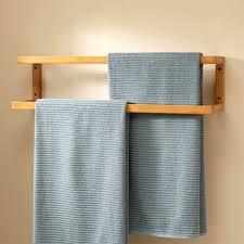 wood towel bar. Radiant Wood Towel Bar W