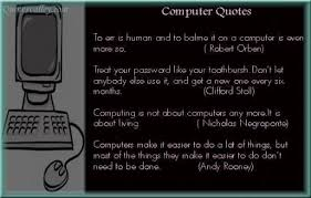 Computers Quotes - Inspirations.in