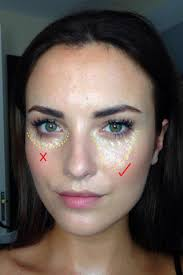 contour under your eyes with makeup