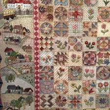 Best 25+ Houston quilt show ideas on Pinterest   Landscape quilts ... & Amazing quilt from Houston Quilt Show covered in embroidery. Made by Ayako  Kawakami of Japan Adamdwight.com
