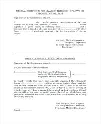 Sample Medical Certificate Fit To Work Hr Reliance Format For Bed