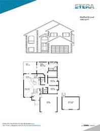 House Floor Plans    Modified Bi Level