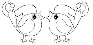 Scuola Di Pensiero Costruisci E Colora Uccellino Natalizio Con