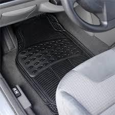 Auto Vehicle Floor Mat Universal Car Fit Front Rear 4 Piece Full Set
