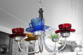 i finally finished the teacup chandelier i m loving it