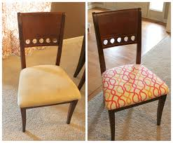 image of reupholster dining chair pads
