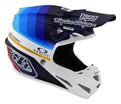 Troy Lee Designs Protection Troy Lee Designs Se4 Carbon Helmet Mirage Navy White
