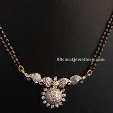 black beads sets diamond lockets