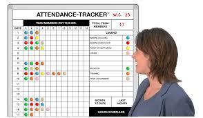 Attendence Tracker Attendance Tracker Absenteeism Tracker Magnatag