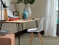 carpet for home office. Beautiful Carpet Create A Cozy Home Office With Neutral Plush Carpet  Home Office  Inspiration To Carpet For
