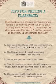 how to write a flashback screenwriting tips  how to write a flashback