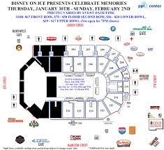 Ppl Center Allentown Pa Seating Chart Disney On Ice Presents Celebrate Memories Ppl Center