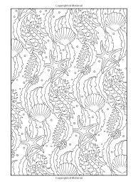 Creative Haven Art Nouveau Animal Designs Coloring Book Coloring Pages